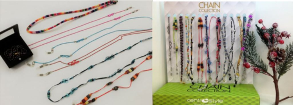 Regalos: cordones y cadenas para gafas