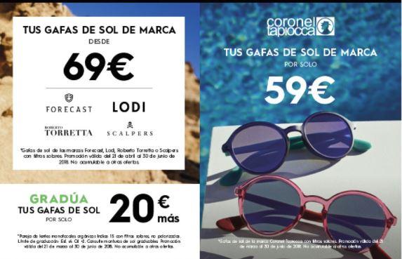 Gafas de sol graduadas: la solución para el verano