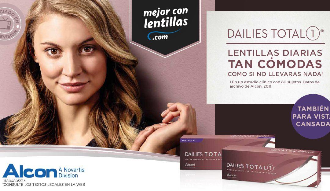 Consigue tus regalos para brillar con Dailies Total