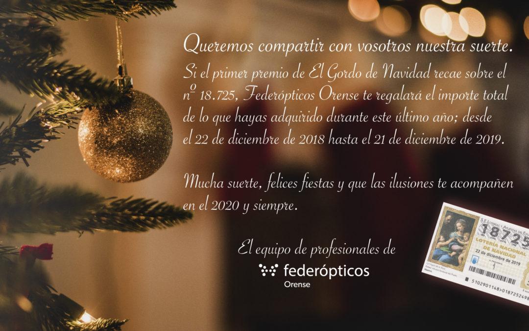 Feliz Navidad a todos de parte de Federópticos Orense